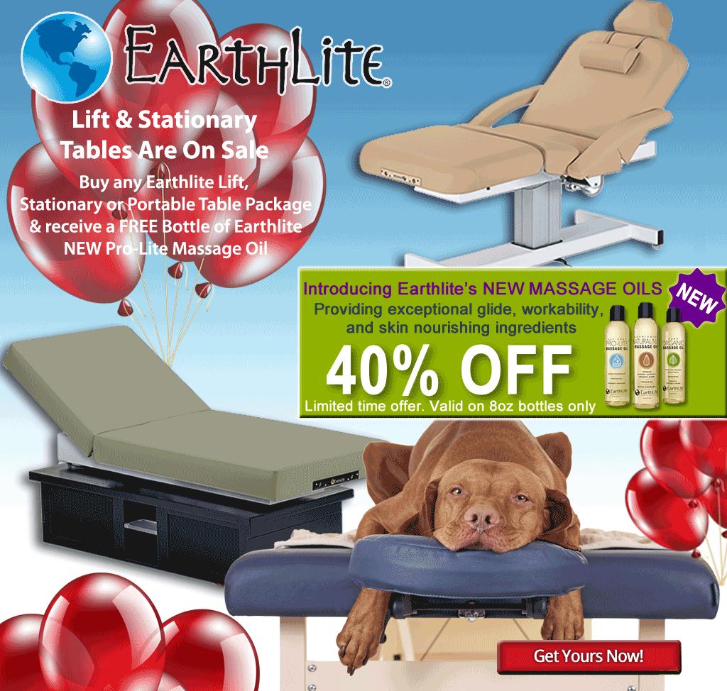 Dog Days of Summer Massage Tables Sale Image