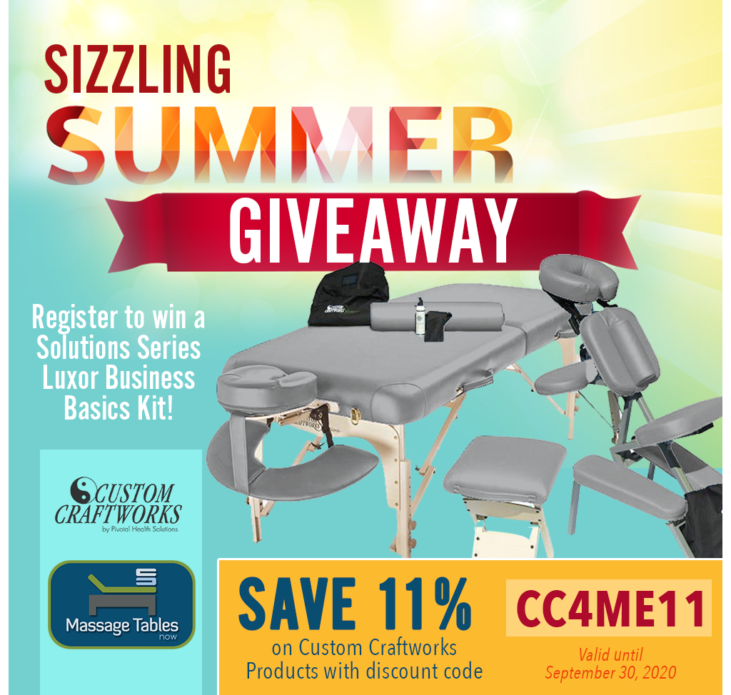 Sizzling Summer Give-Away with Custom Craftworks